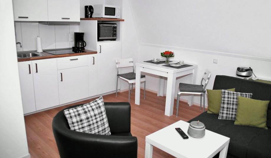 ferienwohnungen neuenhaus alte schmiede wohnung 2. Black Bedroom Furniture Sets. Home Design Ideas